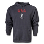 USA 2014 FIFA World Cup Brazil(TM) Men's Core Hoody (Grey)