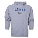 USA 2014 FIFA World Cup Brazil(TM) Men's Elements Hoody (Ash)