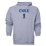 Chile 2014 FIFA World Cup Brazil(TM) Men's Core Hoody (Ash)