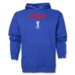 Chile 2014 FIFA World Cup Brazil(TM) Men's Core Hoody (Royal)