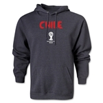 Chile 2014 FIFA World Cup Brazil(TM) Men's Core Hoody (Dark Grey)