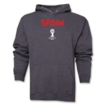 Spain 2014 FIFA World Cup Brazil(TM) Men's Core Hoody (Dark Grey)