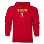 Spain 2014 FIFA World Cup Brazil(TM) Men's Core Hoody (Red)