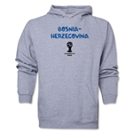 Bosnia-Herzegovina 2014 FIFA World Cup Brazil(TM) Men's Core Hoody (Ash)