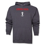 Costa Rica 2014 FIFA World Cup Brazil(TM) Men's Core Hoody (Dark Grey)