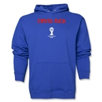 Costa Rica 2014 FIFA World Cup Brazil(TM) Men's Core Hoody (Royal)