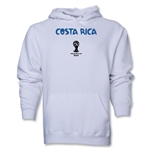 Costa Rica 2014 FIFA World Cup Brazil(TM) Men's Core Hoody (White)