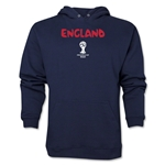 England 2014 FIFA World Cup Brazil(TM) Men's Core Hoody (Navy)