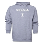 Nigeria 2014 FIFA World Cup Brazil(TM) Men's Core Hoody (Ash)
