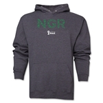 Nigeria 2014 FIFA World Cup Brazil(TM) Men's Elements Hoody (Dark Grey)