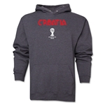Croatia 2014 FIFA World Cup Brazil(TM) Men's Core Hoody (Dark Grey)