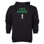 Cote d'Ivoire 2014 FIFA World Cup Brazil(TM) Men's Core Hoody (Black)