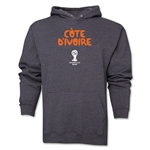 Cote d'Ivoire 2014 FIFA World Cup Brazil(TM) Men's Core Hoody (Dark Grey)