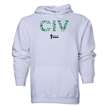 Cote d'Ivoire 2014 FIFA World Cup Brazil(TM) Men's Elements Hoody (White)
