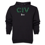 Cote d'Ivoire 2014 FIFA World Cup Brazil(TM) Men's Elements Hoody (Black)