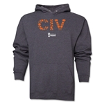 Cote d'Ivoire 2014 FIFA World Cup Brazil(TM) Men's Elements Hoody (Dark Grey)