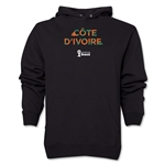 Cote d'Ivoire 2014 FIFA World Cup Brazil(TM) Men's Palm Hoody (Black)