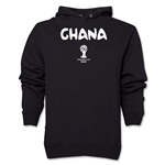 Ghana 2014 FIFA World Cup Brazil(TM) Men's Core Hoody (Black)
