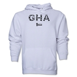 Ghana 2014 FIFA World Cup Brazil(TM) Men's Elements Hoody (White)