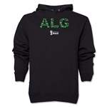 Algeria 2014 FIFA World Cup Brazil(TM) Men's Elements Hoody (Black)
