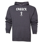 Greece 2014 FIFA World Cup Brazil(TM) Men's Core Hoody (Dark Grey)