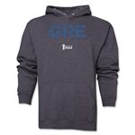 Greece 2014 FIFA World Cup Brazil(TM) Men's Elements Hoody (Dark Grey)