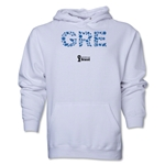 Greece 2014 FIFA World Cup Brazil(TM) Men's Elements Hoody (White)