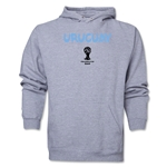 Uruguay 2014 FIFA World Cup Brazil(TM) Men's Core Hoody (Ash)