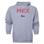 Mexico 2014 FIFA World Cup Brazil(TM) Men's Elements Hoody (Ash)