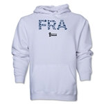 France 2014 FIFA World Cup Brazil(TM) Men's Elements Hoody (White)