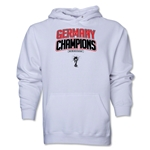 Germany 2014 FIFA World Cup Brazil(TM) Champions Logotype Hoody (White)