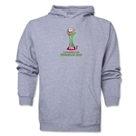 FIFA Club World Cup Morocco 2013 Men's Official Emblem Hoody (Ash)