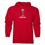 FIFA Club World Cup Morocco 2014 Men's Core Hoody (Red)
