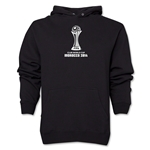 FIFA Club World Cup Morocco 2014 Men's Official Emblem Hoody (Black)