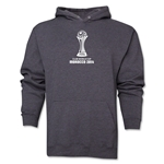 FIFA Club World Cup Morocco 2014 Men's Official Emblem Hoody (Dark Grey)