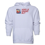 FIFA Women's World Cup Canada 2015(TM).French Slogan Hoody (White)