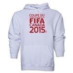 FIFA Women's World Cup Canada 2015(TM).French Logotype Hoody (White)