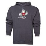 FIFA Women's World Cup Canada 2015(TM) Mascot Pose 1 Hoody (Dark Grey)