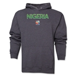 Nigeria FIFA Women's World Cup Canada 2015(TM) Soccer Hoody (Dark Grey)