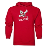 FIFA Women's World Cup Canada 2015(TM) Mascot Pose 3 Hoody (Red)