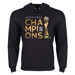 USA FIFA Women's World Cup Champions Hoody (Black)