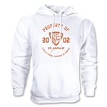 Jaguares de Chiapas Distressed Property Hoody (White)