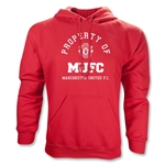 Manchester United Distressed Property Hoody (Red)