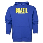 Brazil Powered by Passion Hoody (Royal)