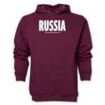 Russia Powered by Passion Hoody (Maroon)