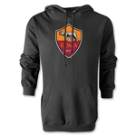 AS Roma Crest Hoody (Black)