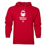 FC Santa Claus Fear the Beard Men's Hoody (Red)