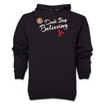 FC Santa Claus Don't Stop Believing Men's Hoody (Black)