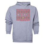 FC Santa Claus Christmas Sweater Men's Hoody (Ash)