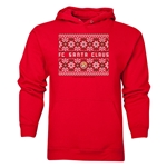 FC Santa Claus Christmas Sweater Men's Hoody (Red)